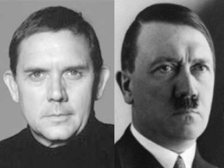 David Bamber plays Adolf Hitler